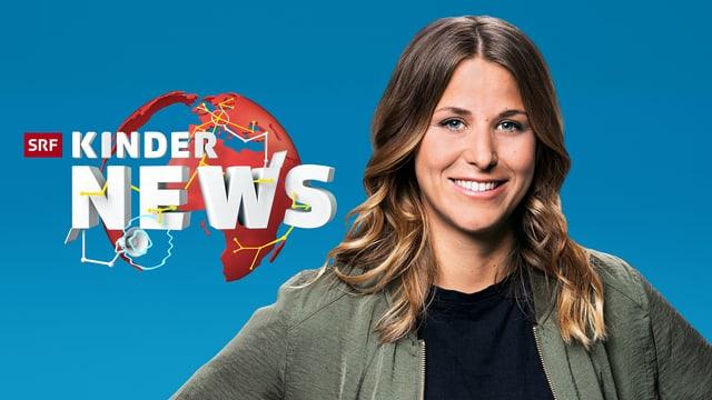 Kinder News Moderatorin Joana