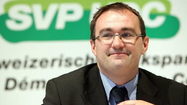 Martin Baltisser (SVP/BE) in Nahaufnahme