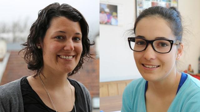 Anita Tschuor e Patricia Venzin