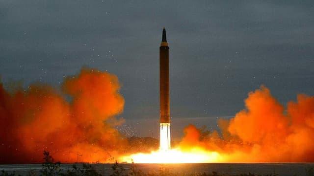 Bombentest von Nordkorea.