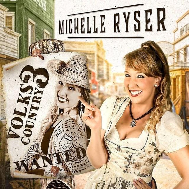 CD Cover mit Michelle Ryser.