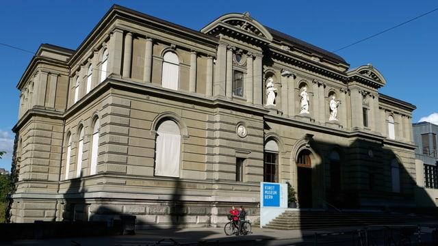 Blick auf das Kunstmuseum Bern von aussen.