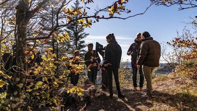 Einblick in die Dreharbeiten zu «Wilder» letzten Herbst im Jura.