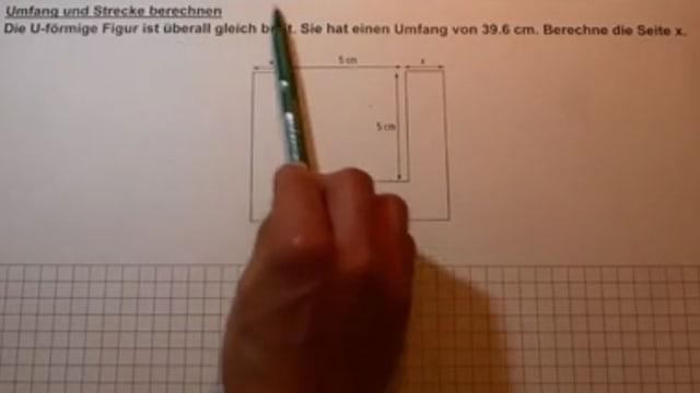 Mathematikaufgabe.