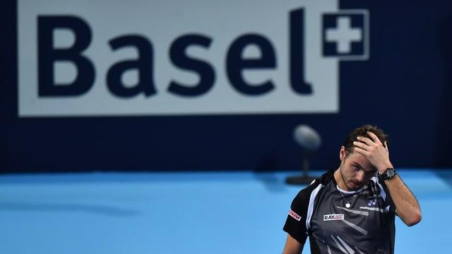 Stan Wawrinka hat in Basel in den letzten Jahren nie überzeugen können.