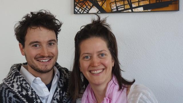 Mirko Baselgia e Bianca Mayer (Bibi Vaplan) èn dapi dus onn in pèr.