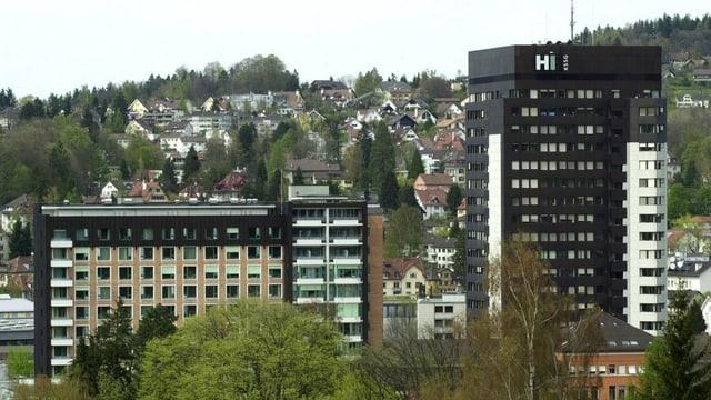 Das Kantonsspital in St. Gallen