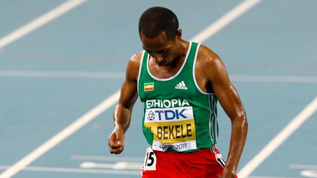 Die Leichtathletik-WM 2013 findet ohne Kenenisa Bekele statt.