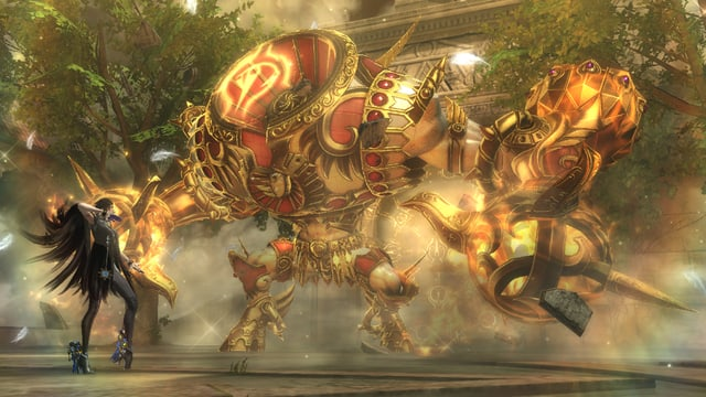 Monster vs. Bayonetta. Der Coolness-Faktor bei Bayonetta ist um einiges grösser.