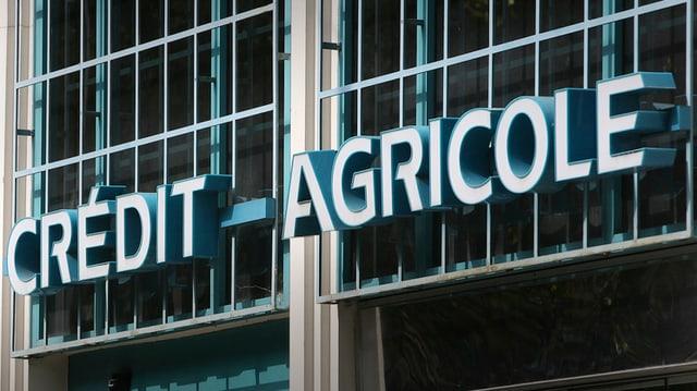 La Crédit-Agricole è ina da las trais bancas ch'èn sa cunvegnidas cun las autoritads americanas.