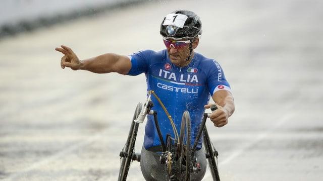 Alessandro Zanardi verunfallte bei einem Handbike-Rennen schwer.