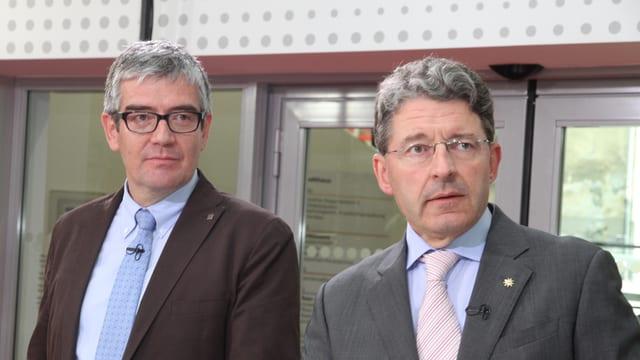 Heinz Brand e Jon Domenic Parolini