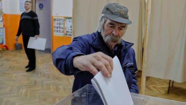 Bulgaria: Um che votescha a Sofia.