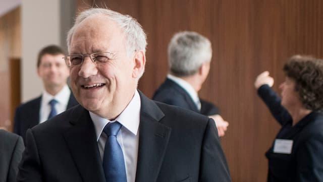 Johann-Schneider Ammann am Dies academicus in Zürich