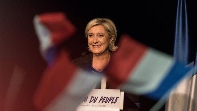 Portrait Le Pen.