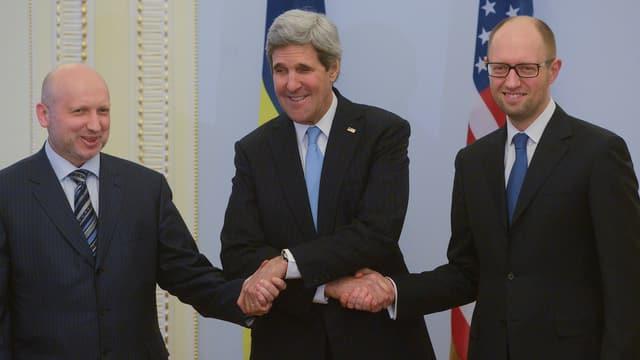 Treffen mit Ukraine-Spitzen.