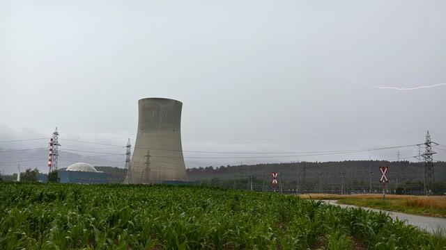 L'ovra atomara da Gösgen è vegnì tschentà giu questa notg sco planisà.
