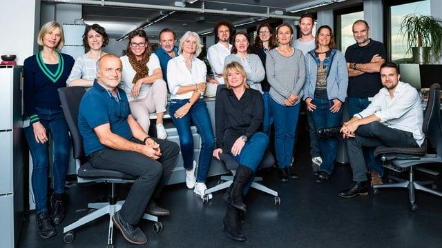 Gruppenfoto der Puls-Redaktion