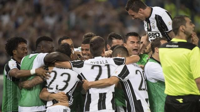 Juventus jubelt