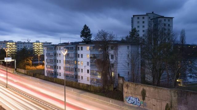 Abitaziuns a Turitg Schwamendingen