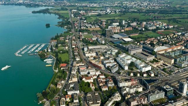 Ufergebiet der Stadt Zug