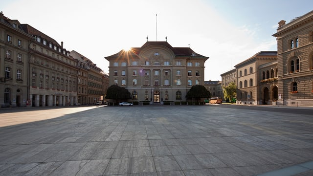 Banca Naziunala Svizra a Berna.
