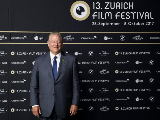 Al Gore am Zurich Film Festival 2017