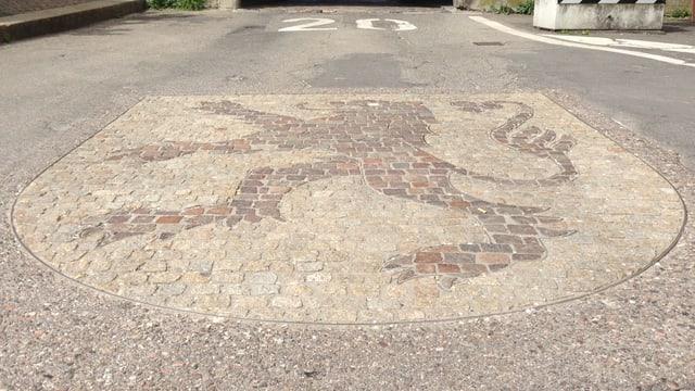 Wappen von Laufenburg in der Altstadt