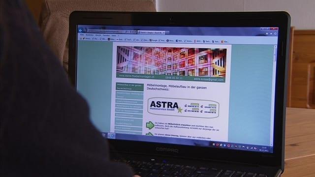 Vergebliches Warten auf Astra Homeservice
