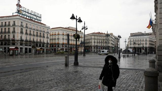 Die Puerta del Sol in Madrid