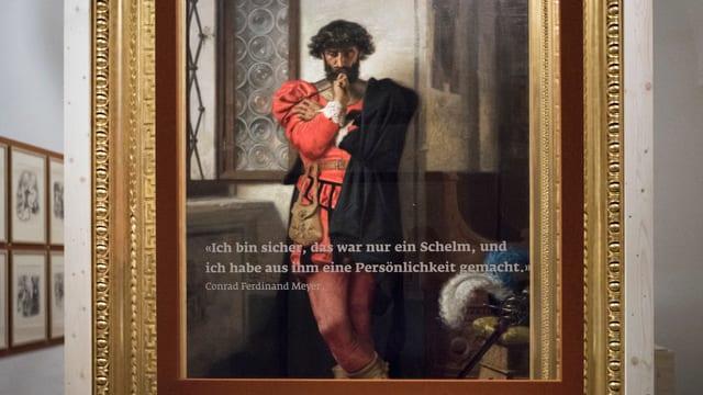 Ein Gemälde, das Jenatsch zeigt.