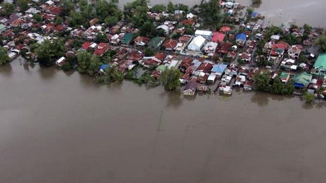 In maletg d'ina inundaziun sin las Filippinas dal 2016.