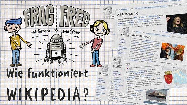 Video «Frag Fred: Wie funktioniert Wikipedia? (4/5)» abspielen