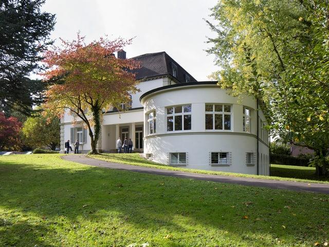Villa im Garten