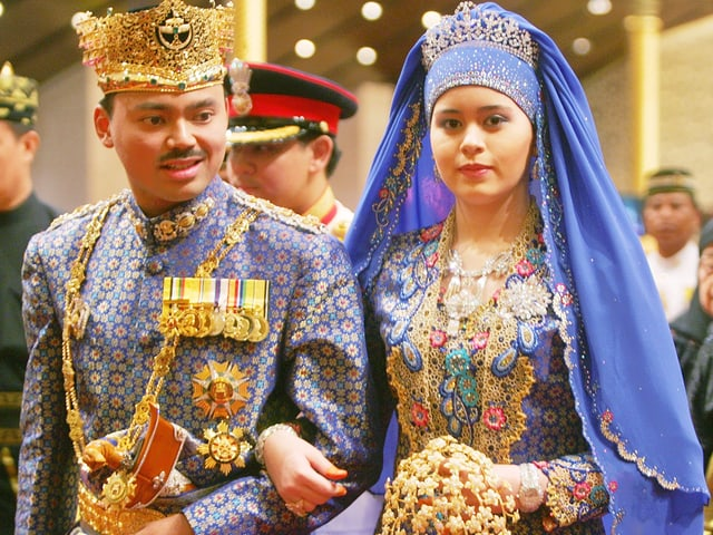 Hochzeit Kronprinz von Brunei