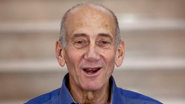 Porträt von Ehud Olmert.