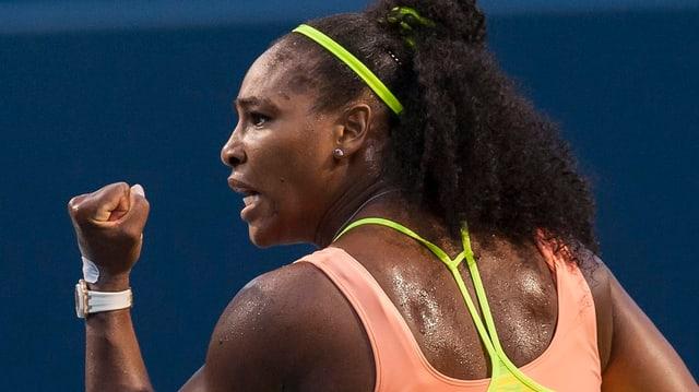 Weltnummer 1 Serena Williams.