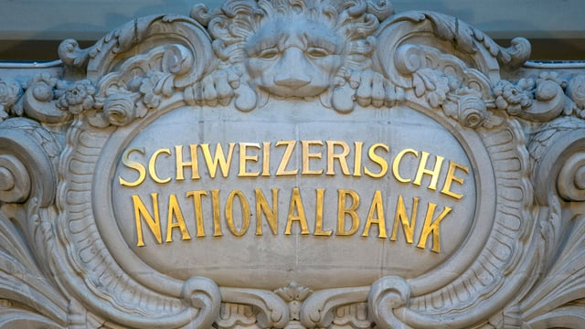 Banca naziunala svizra.