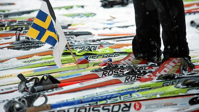 In sportist sin ils skis da passlung.
