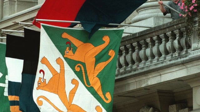 Thurgauer Fahne