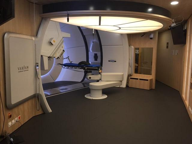 Der Behandlungsraum der Gantry 3.