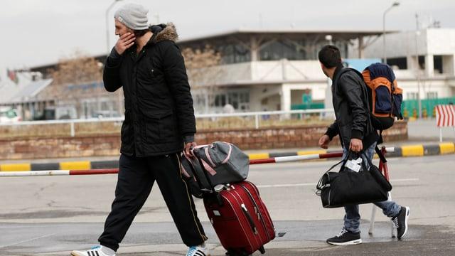 Afgahnen, deren Asylantrag in Deutschland abgewiesen wurde.