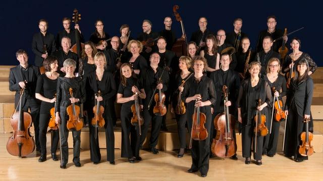 Gruppenfoto des Basler Kammerorchesters