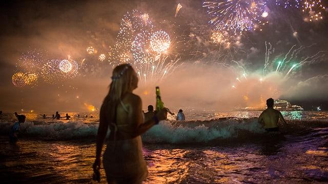 Tar 28 grads è vegnì festivà l'onn nov a Rio de Janeiro.