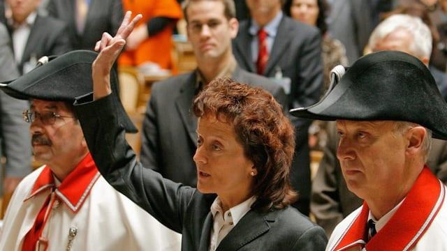 Eveline Widmer-Schlumpf vegn saramentada