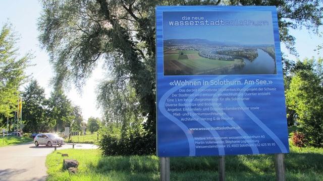 Plakat Wasserstadt.