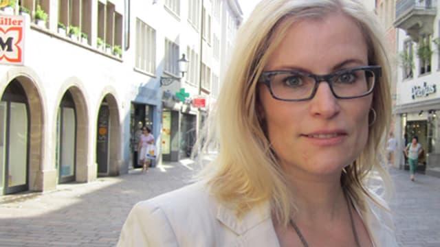 Das Defizit in ihrem Budget wird immer grösser: Winterthurs Finanzstadträtin Yvonne Beutler.