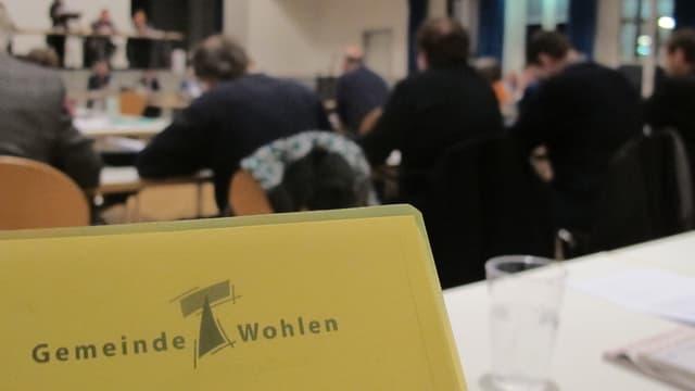 Logo Gemeinde Wohlen