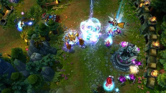 Eine Spielszene aus dem Game «League of Legends».