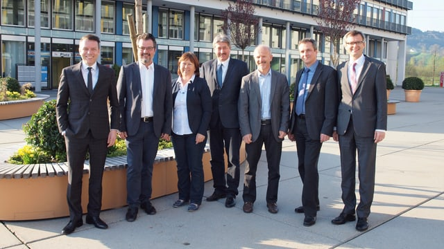 Die 6 Gemeindepräsidenten